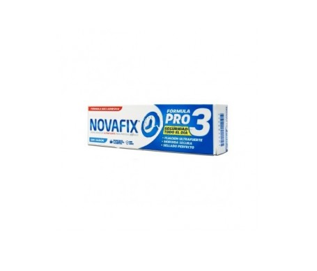 Novafix Pro3 Crema Adhesiva Sin Sabor 50gr