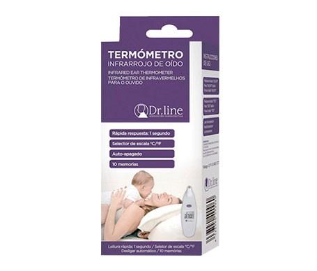 Dr Line Termometro Infrarrojo De Oido