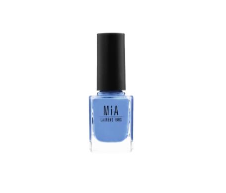 Mia Laurens Paris esmalte de uñas tono Aqua Blue 11ml