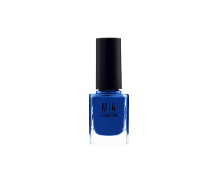 Mia Laurens Paris esmalte de uñas tono Electric Blue 11ml