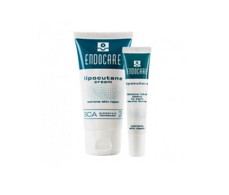 Endocare Lipocutane Duo 50ml+balsamo Labial10 Ml
