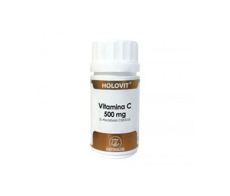 Holovit Vitamin C 500mg (Calcium L-ascorbate) 50caps