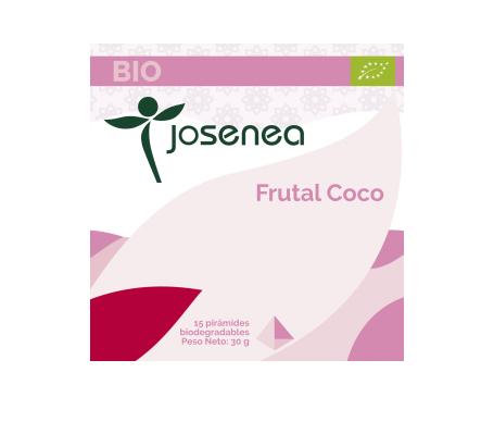 Josenea frutal coco bio caja 15 pirámides