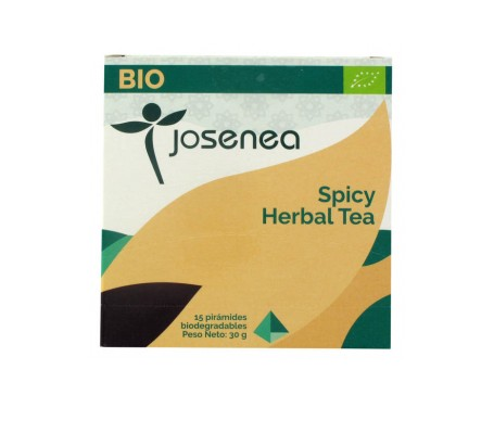Josenea spicy herbal tea bio caja 15 pirámides