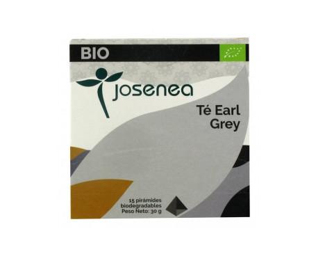 Josenea té earl grey bio caja 15 pirámides