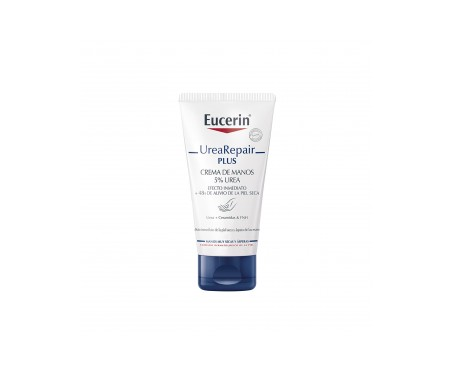 Eucerin® Urea Repair Plus 5% urea crema de manos 2x75ml