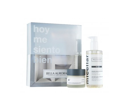 Bella Aurora Pack B7 Antiedad Antimanchas 50ml + Gel Micelar 250ml