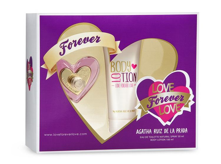 Estuche Agatha Ruiz De La Prada Love Forever