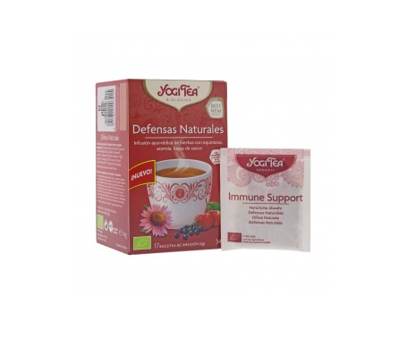 Yogi Tea defensas naturales 17 bolsas