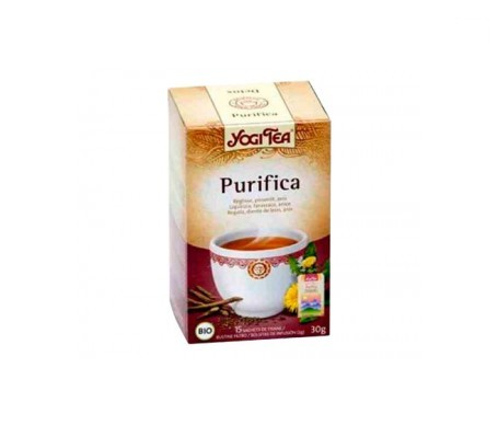 Yogi Tea purifica 15 bolsas