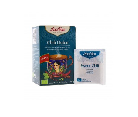 Yogi Tea chili dulce 17 bolsas