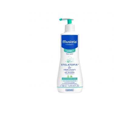 Mustela Stelatopia gel baño 500ml