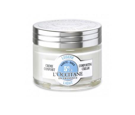 L'Occitane crema ligera confort karité 50ml