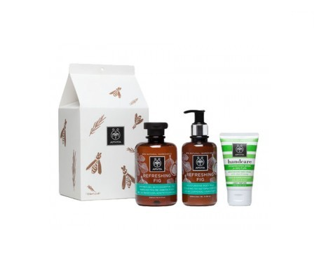 Apivita Set Refreshing Fig  + REGALO crema de manos