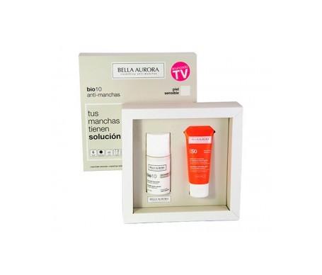 Bella Aurora Pack Bio10 antimanchas piel seca + REGALO