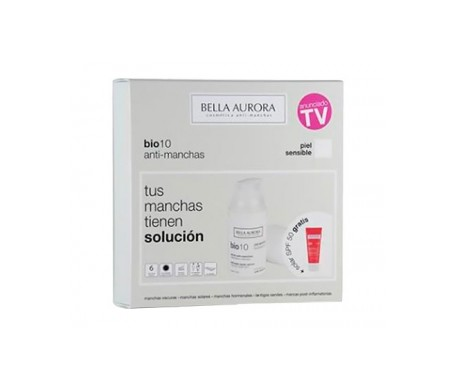Bella Aurora Pack Bio10 antimanchas piel sensible + REGALO