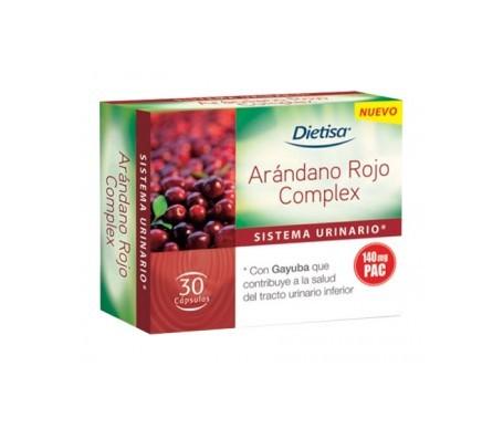 Dietisa arándano rojo complex 30cáps