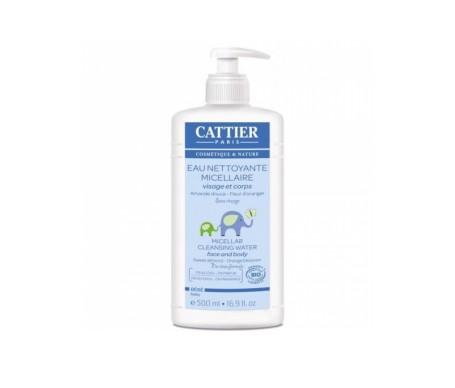 Cattier Bebé agua micelar limpiadora 500ml