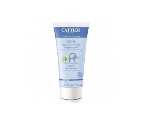 Cattier crema hidratante bebé cara y cuerpo 75ml