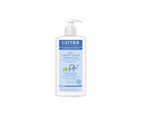 Cattier Gel-champu Baby 500ml