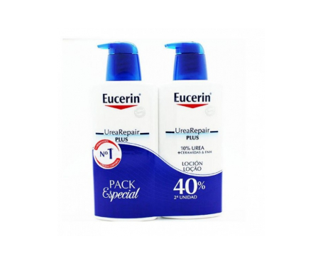 Eucerin® Urea Repair Plus loción 10% 400ml+400ml