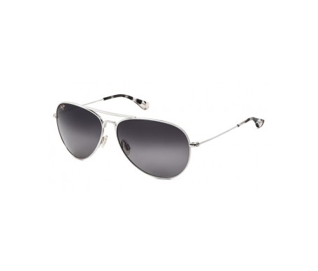 Maui Jim Mavericks Gs264-17 gafas de sol color plata 1ud