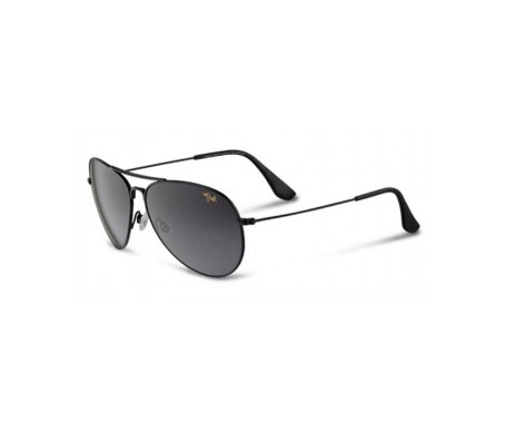 Maui Jim Mavericks Gs264-02 gafas de sol color negro brillante 1ud