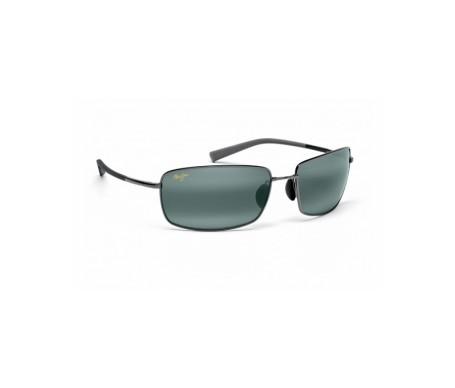 Maui Jim Ironwoods Flexible 320-17 gafas de sol color plata 1ud