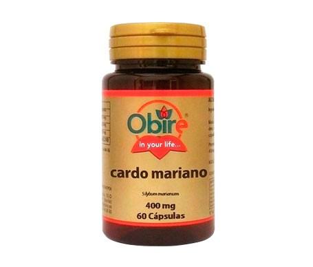 Obire Cardo Mariano 400mg 60cáps
