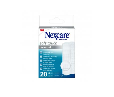 Nexcare® Soft apósitos 20uds