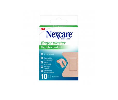 Nexcare Finger Aposito 10 Tiras