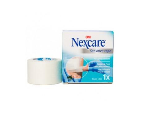 Nexcare Esparadrapo Papel Blanco 5 M X 2,5 Cm