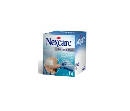 Nexcare Esparadrapo Papel Blanco 5 M X 5 Cm