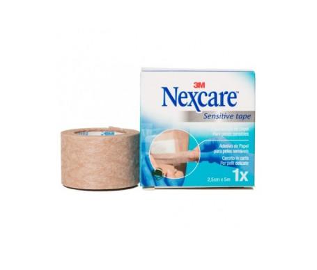Nexcare Esparadrapo Papel Color Piel 5 M X 2,5 Cm