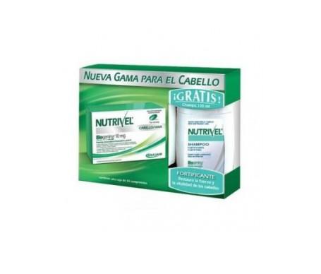Nutrivel Biogenina Tratamiento Anticaida 30 Capsulas+ Champu 100