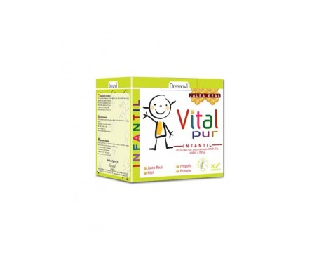 Drasanvi Vitalpur Jalea Real Junior 20udsx15ml
