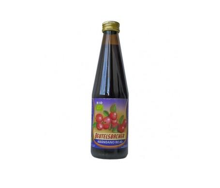 Beutelsbacher zumo de arándano rojo BIO 330ml