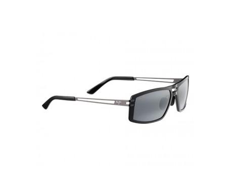 Maui Jim Malihini 702-02 gafas de sol color negro brillante 1ud
