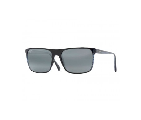 Maui Jim Flat Island 705-03S gafas de sol color azul a rayas 1ud
