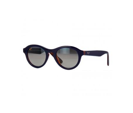 Maui Jim Leia Gs708-03D gafas de sol color azul con interior zarzaparrilla 1ud