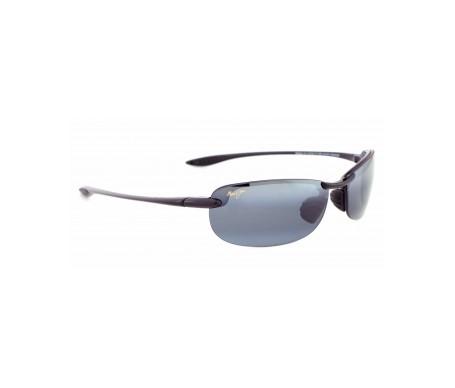 Maui Jim Makaha 405-02 gafas de sol color negro brillante 1ud