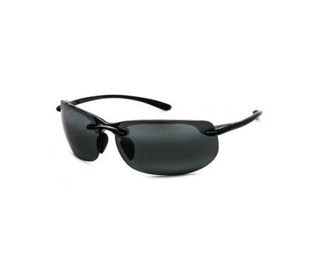 Maui Jim Banyans 412N-02 gafas de sol color negro brillante 1ud