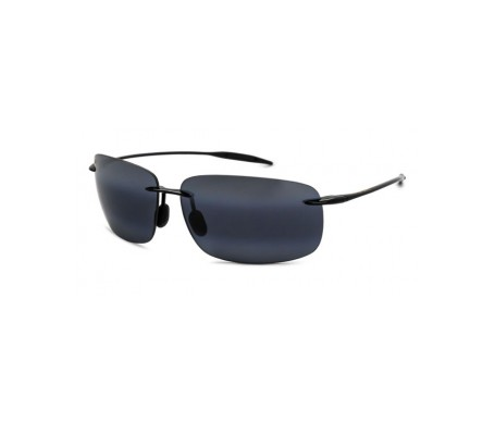 Maui Jim Breakwall 422-02 gafas de sol color negro brillante 1ud