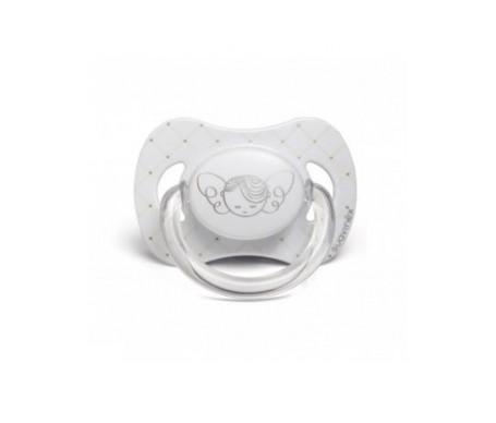 Suavinex® White chupete tetina anatómica silicona 6-18m 1ud