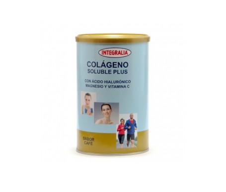 Integralia Colágeno Soluble Plus hialurónico magnesio sabor café 360g