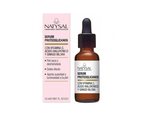 Natysal Proteoglycan Serum + Vitamin C + Hyaluronic 15 ml