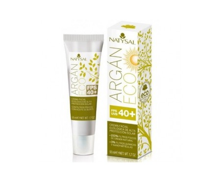 Natysal Crema De Argan Natural Ecologica 50 Ml