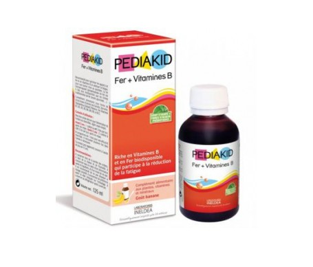 Pediakid Hierro+vitaminas Jarabe 125 Ml