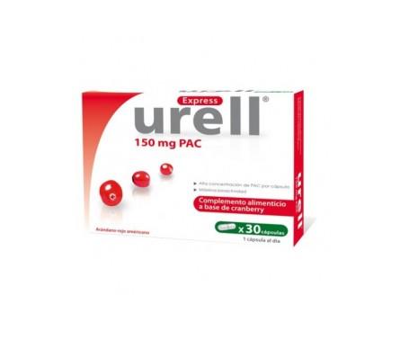 Urell Arandano Cranberry 150 Mg 90 Capsulas