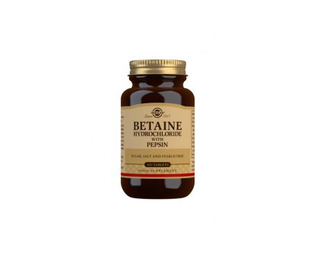 Solgar Betaina Clorhidrat Hci Pepsina